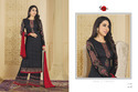 Round Neck Black Parina Salwar Suit