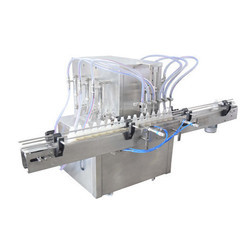 4 Nozzel Juice Filling Machine