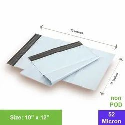 Plastic White Security Envelope, For Courier, Thickness: 51 - 125 Micron