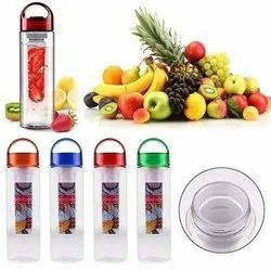 Infuse Water Bottles - 24 or 32 Ounce Fruit Infuser Bottle - Featuring Unique Leak Proof Silicone