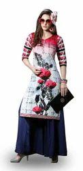 Pure Cotton Kurti Fabric