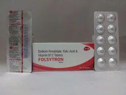 Sodium Feredetate Folic Acid Vitamin B12