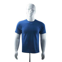 Men's Cotton Round Neck Plain T-Shirt, Size: S-XXXXL