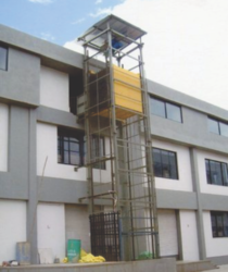 Merrit External Hoist Type Goods Lift