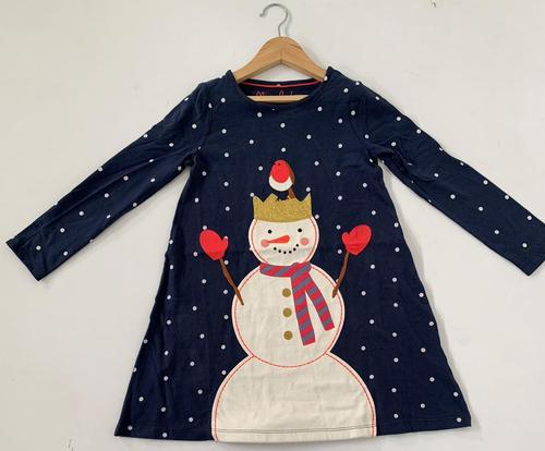 Printed applique mini boden girls long fancy top rs 180 piece id