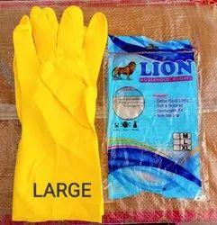 Lion Latex Household Gloves