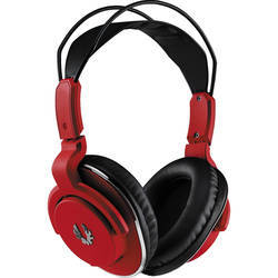 Black And Red Bitfinex Mobile Headphone