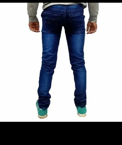 Denim Faded Mens Jeans, Waist Size: 30