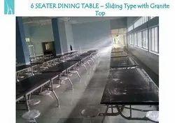 Granite Top Sliding Dining Table