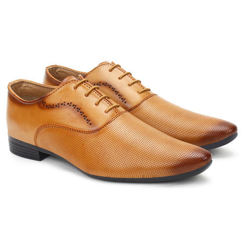 611d65fea597cf Buwch Brown Formal Shoe For Men, Size: 6-10, Rs 300 /pair | ID ...