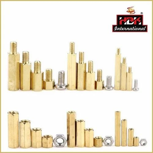 Brass Spacers and Pillars