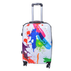 Printed Suitcase