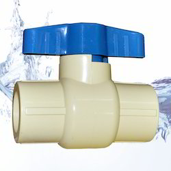 Solid CPVC Ball Valve