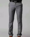 Mens Formal Trousers Gray