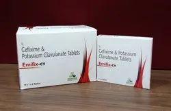 Cefixime & Potassium Clavulanate