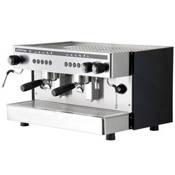 TWO GROUP COFFEE MACHINE