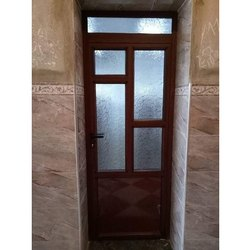 Brown Interior 7 Feet Plastic Bathroom Door