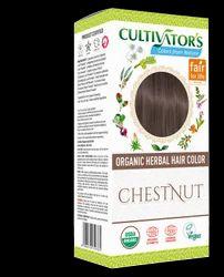 Organic Herbal Hair Color - Chestnut