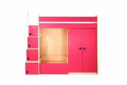 YiPi Flexi Bunk Bed Wardrobe Sofa Cum Bed
