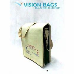 VISION Cream Conference Sling Bag