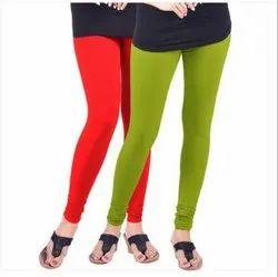 Churidar Plain Lyra Silk Premium Leggings