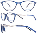 Salvador Graceful Fashionable New Women's Tr90 Optical Frame-42042, Size: 50 Mm