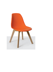 Plastic Silver Arrow, Restaurant Chair