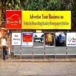 Led Screen Banner Bus Shelter Ads