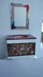 PVC Vanity Cabinet Full Set