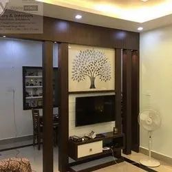 Sp Decors Brown Living Room Tv Cabinet Rs 1100 Square Feet Sp Decors Id 21708372455