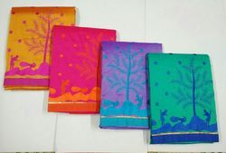 Cotton Embroidered Chudidhar Materials, Bottom Size: 2 M