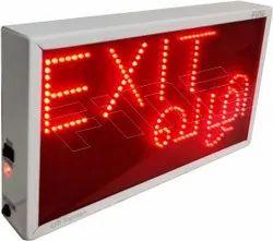 Exit Vali LED Display