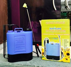 Disinfectant Sprayer, Battery Operated Pressure Pump Sprayer, 16 Litre