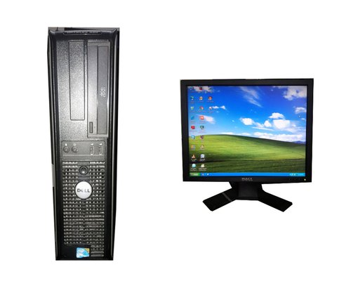 Dell Core2duo With Lcd (Used), Hard Drive Capacity: 160 GB, Screen Size: 17""