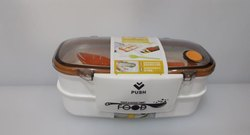 Little Kitchen School Airtight Lunch Box Lunch Box 2 Containers Lunch Box