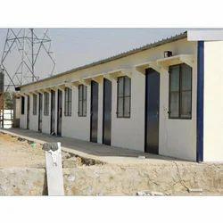 Mild Steel Prefabricated Labour Accommodation