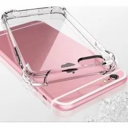Plastic Apple iPhone Transparent Mobile Case