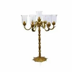 4343 Golden Candle Stand