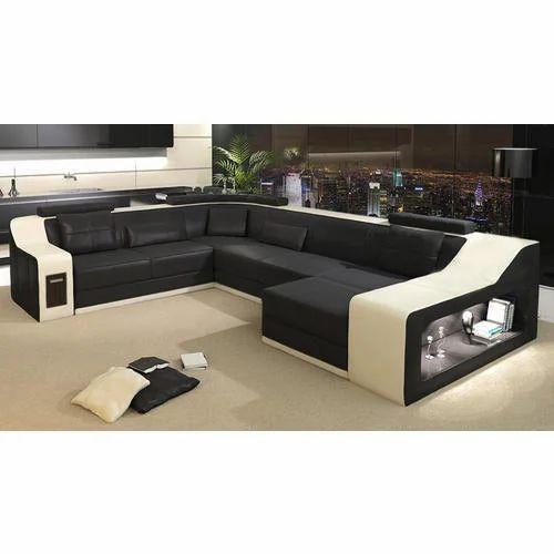 Modern Corner Sofa at Rs 10000 /seat | कॉर्नर सोफा सेट ...