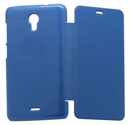 quality design 152cf 18c24 Flip Cover For Micromax Canvas Unit 2 A106 Blue