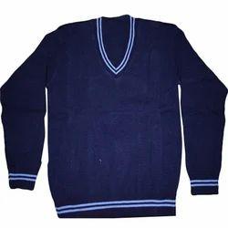 8bc96b2da59e0d Blue Woollen Plain School Sweater, Rs 110 /piece, Kaushal Garments ...