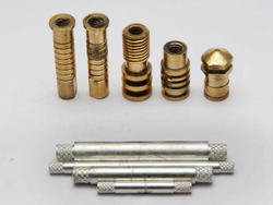 Brass and Copper Battery Insert