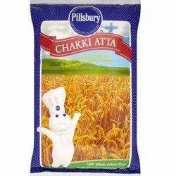 Wheat Pillsbury Chakki Atta, Packaging Size: 10 Kg