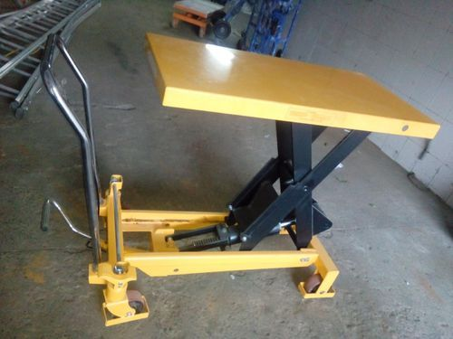 Double Scissor Lift Table, Table Size: 1000 X 510 Mm | ID