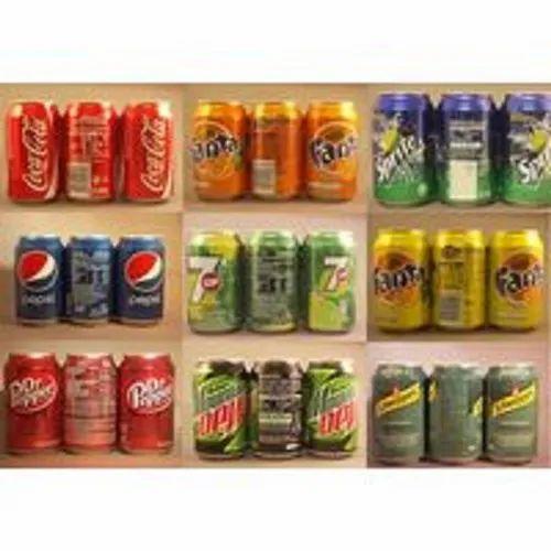 Coca Cola, Fanta, Diet Coke , Sprite, Pepsi Cola 330ml Cans