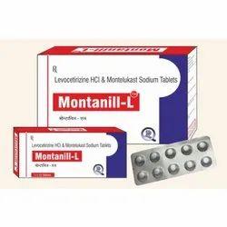 Levocetirizine Hcl And Montelukast Sodium