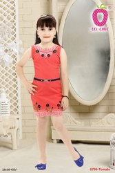 Embroidered Girls Short Middy, Age Group: 1-12yr
