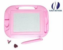 WAH NOTION Drawing And Writing Board Colour Pink 0 to 9 counting Full ABCD