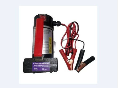 Amspa Battery Operated Diesel Transfer Pump, Max Flow Rate: 80 Lpm