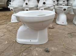 White Concealed Toilet Seat